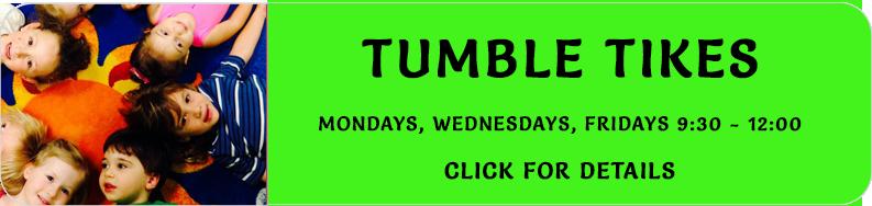 Tumble Tikes Schedule